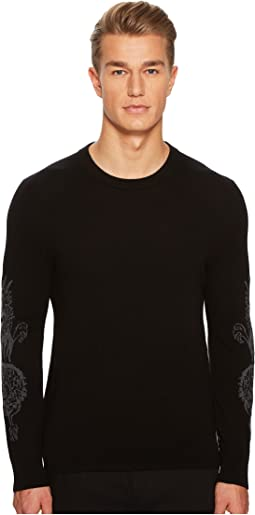 The Kooples - Long Sleeved Pullover with Intarsia