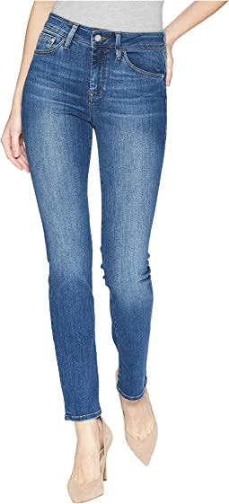 Kendra High-Rise Straight Leg in Indigo Supersoft