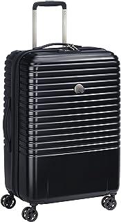 DELSEY PARIS - CAUMARTIN PLUS - Valise rigide avec zip SECURITECH2 et serrure TSA intégrée - 66cm, 62L, Noir