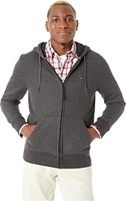 Hoodie Sweatshirt with Magnetic Zipper
