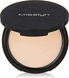 Misslyn Face Powder - Pack of 1, Rosy Beige