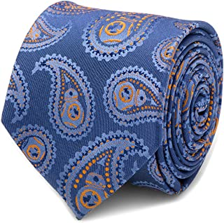 Star Wars BB-8 Blue Paisley Men's Dress Tie