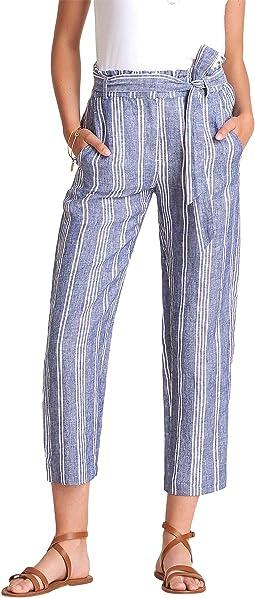 Paper Bag Pants - Shore Stripes