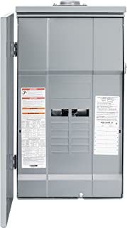 Square D by Schneider Electric HOM12L225PRB Homeline 225 Amp 12-Space 12-Circuit Outdoor Main Lugs Load Center (Plug-on Neutral Ready),
