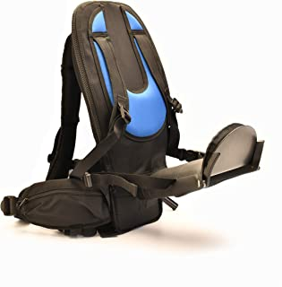 The Freeloader Child Carrier – New Child Carrier, Toddler Backpack, Sleek, Lightweight and Secure Kid Carrier with Buckles, Stirrups, Great for Walks, Hikes, Travel, Outdoor Activity