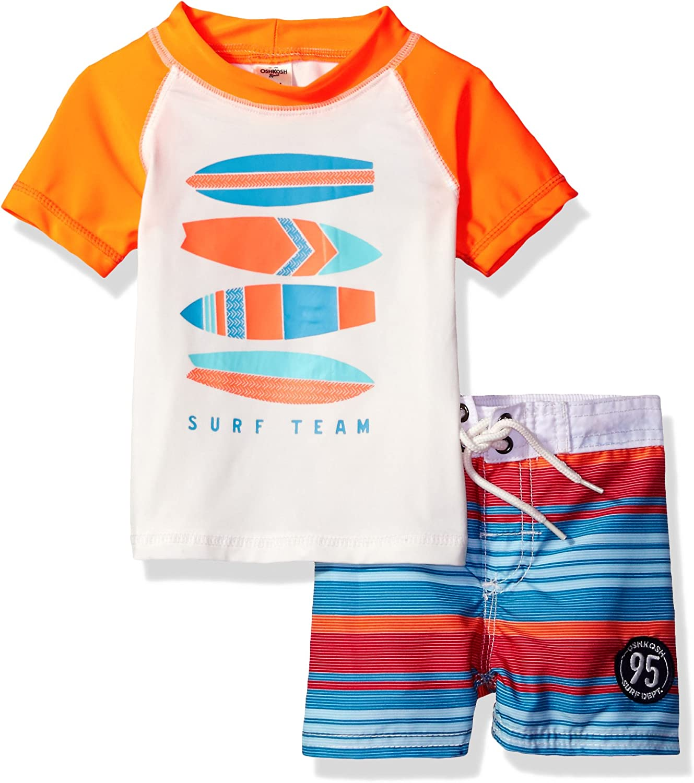 Osh Kosh Boys' Infant Surf Rash Direct stock discount Guard Set Quality inspection Team