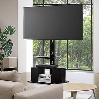 "Artiss TV Mount Stand Floor 32"" to 70"" Standing Bracket Shelves ±35° Swivel Television Display Storage Adjustable Height H..."