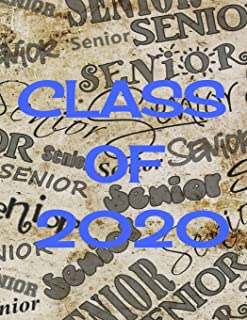 Class of 2020 Seniors: The perfect notebook to take notes in class, track senior events, or give to someone graduating