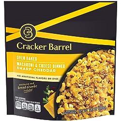 Cracker Barrel Oven Baked Sharp Cheddar Macaroni & Cheese (12.3 oz )