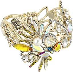 Betsey Johnson - Yellow and Gold Bird Bangle