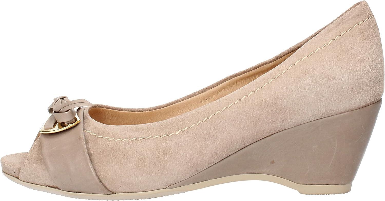 MACRI' VENEZIA Pumps-shoes Womens Suede Beige