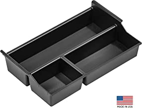 Vehicle OCD - Center Console Organizer Tray Compatible with Toyota Tundra (2007-20) / Toyota Sequoia (2008-20) - Made in USA