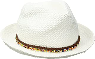 Women's Fedora with Sprinkle Beads