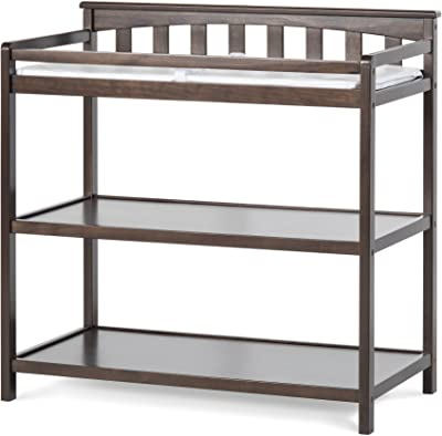 Child Craft Flat Top Changing Table With Pad Slate Baby