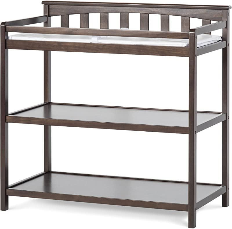 Child Craft Flat Top Changing Table With Pad Slate