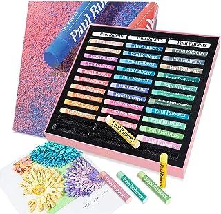 پائول روبنز لوازم هنری پاستل های روغنی ، 36 رنگ پاستلی هنرمندان پاستل های روغنی نرم با 2 متالیک زرق و برق دار ، کاغذ پاستلی 5.8 8. 8.3 اینچ برای هنرمندان مبتدی هنرجویان نقاشی نقاشی