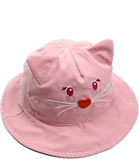 53e16d65360 Kids Sun Protection hat Cute Animals Designed Toddler Boys Girls Bucket hat