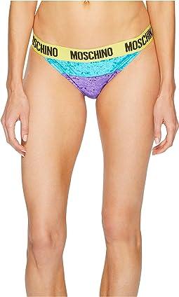 Moschino - Chenille Bikini Briefs