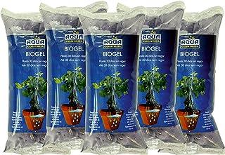 comprar comparacion Aqua Control Biogel C21405, Agua Sólida para tus Plantas, Ideal para Riego en Vacaciones, Hasta 30 Días sin Regar - 400 ml...