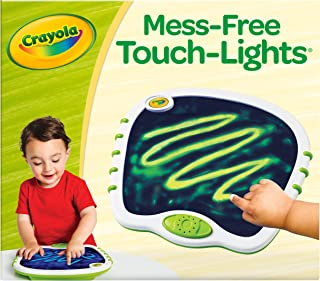 My First Crayola Touch Lights, Musical Doodle Board, Toddler Toy, Gift, White, Green