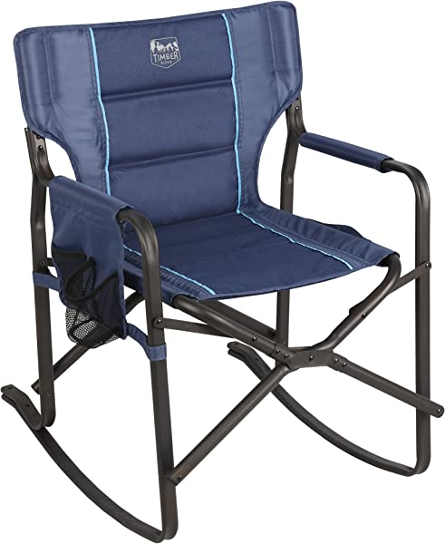 Timber Ridge Acacia Rocking Director S Chair Blue