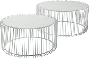 KARE Design Mesa Redonda Wire, 2/Set
