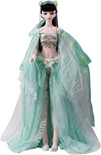 Dream fairy--Chinese zodiac Series Fortune Days Original Design 60 cm Dolls(with Gift Box), Series 26 Joints Doll, Best Gift for Girls. (Green Snake)