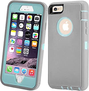 Stroson Case for iPhone 6 / iPhone 6s, Shockproof Hybrid Triple Layer Protection Bumper Support Wireless Charging Protecti...