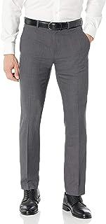 Perry Ellis Men's Slim Fit Sharkskin Pant