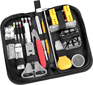 Watch Repair Kit, Ohuhu 174 PCS Watch Battery Replacement Tool Kit, Watch Link Removal..