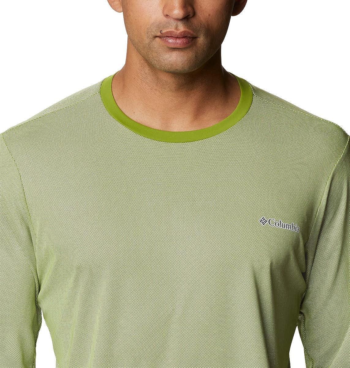 Columbia Mens Sun Deflector Summerdry Long Sleeve Shirt Sp21