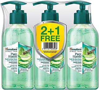 Himalaya Pure Hand Wash Tulsi & Aloe Vera, 3 x 250 ml