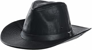 Faux Leather Indiana Jones Hat Outback Hat Fedora CD8859
