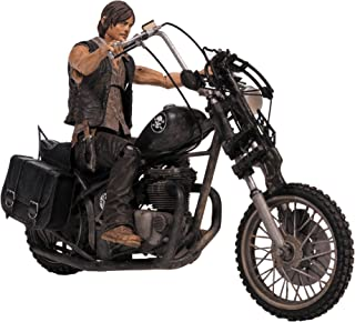 McFarlane Walking Dead TV Daryl Dixon con Chopper Figura de acción Box Set