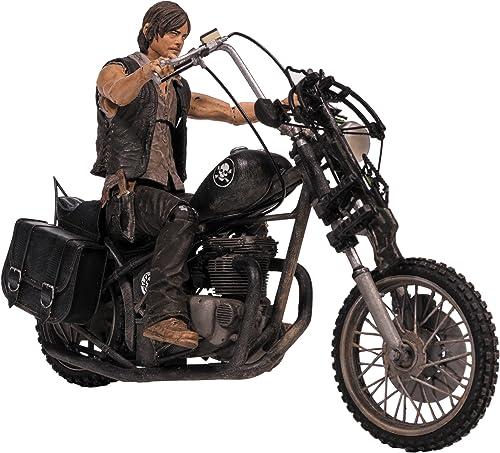 hasta un 60% de descuento McFarlane Walking Dead TV Daryl Daryl Daryl Dixon con Chopper Figura de acción Box Set  tiendas minoristas