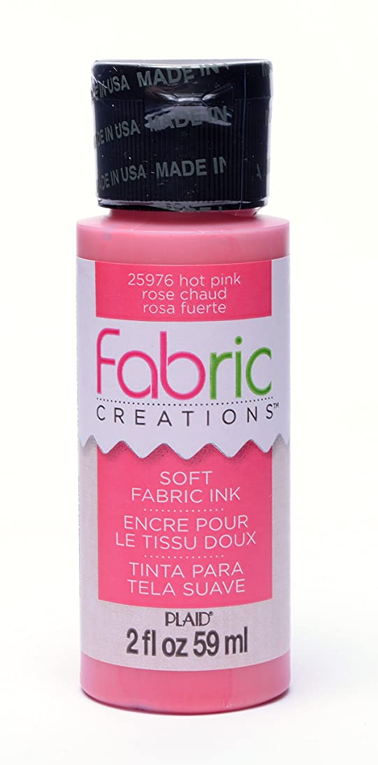 Fabric Creations Fabric Ink in Assorted Colors (2-Ounce), 25976 Hot Pink