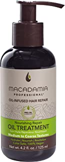 Macadamia Professional Hair Care Sulfate & Paraben Free Natural Organic Cruelty-Free Vegan Hair Products Nourishing Hair Repair Oil Treatment, 4.2oz