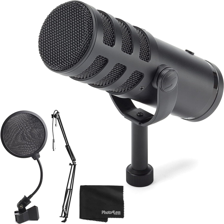 Samson Q9U XLR All items free shipping USB Recommendation Dynamic Broadcast Filter Pop Microphone + B