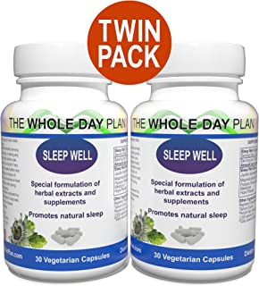 Sleep Well - Sleeping Pills for Insomnia - Sleeping Aid for Women and Men - fall Asleep & Stay Asleep all Night Long - Sleep Aid Capsules - made in United States