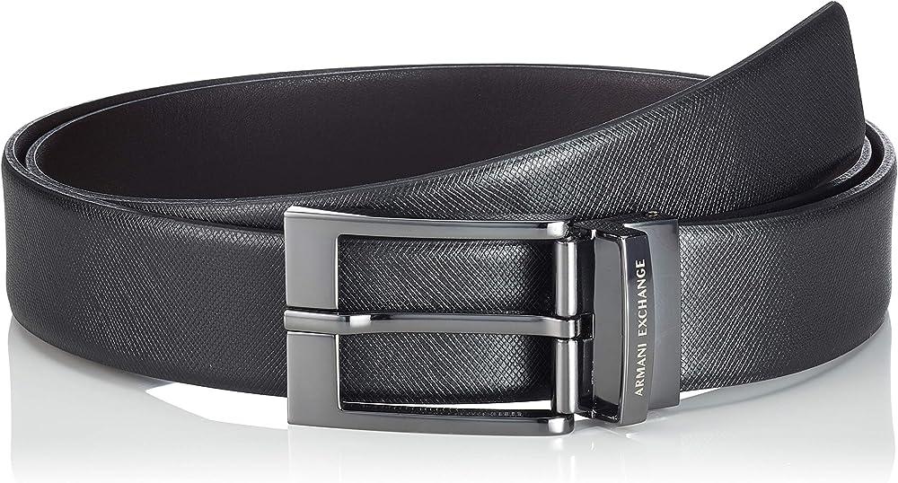 Armani exchange cintura uomo 100% pelle 951019-CC507