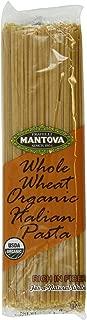 Mantova Italian Organic Linguine Whole Wheat Pasta, 1-Pound Bags (Pack of 10)