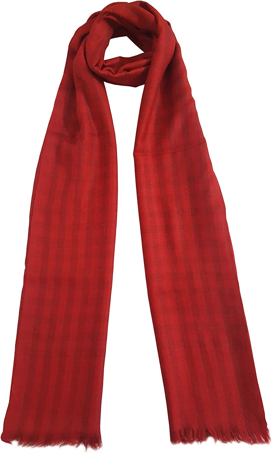 Mehrunnisa Handcrafted Pure Cashmere Pashmina Wool Stole Wrap  Unisex