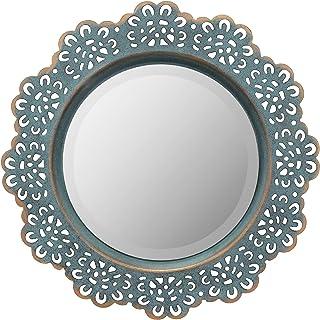 stonebriar decorativos pared de metal Espejo de encaje con