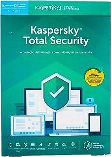 Total Security - 5 Dispositivos, Kaspersky, KL1949K5EFS