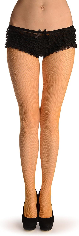 Terracotta Fine Fishnet - Pantyhose (Tights)