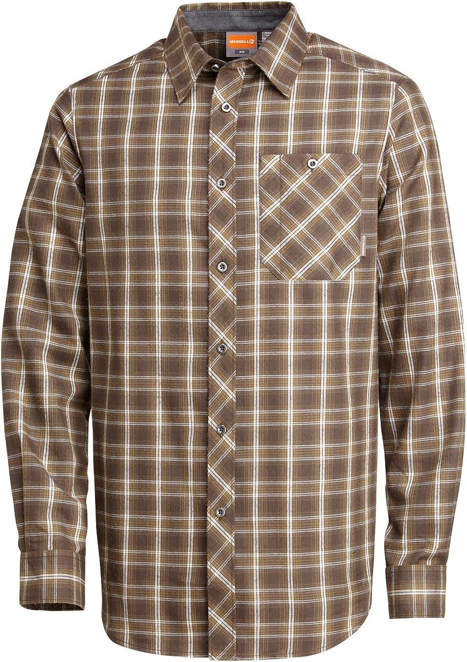 Merrell Men's Talin Shirt Under blast Japan's largest assortment sales Pullsaw X-Large