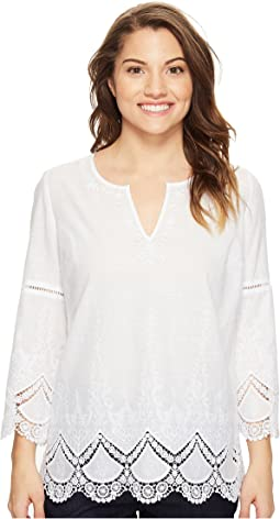 Petite Callie Embroidered Tunic
