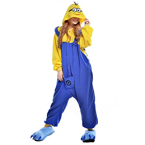 0b143fc9e555 NEWCOSPLAY Adult Anime Unisex Pyjamas Halloween Onesie Costume
