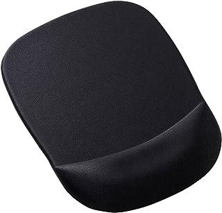 サンワサプライ 低反発リストレスト付きマウスパッド(ブラック)