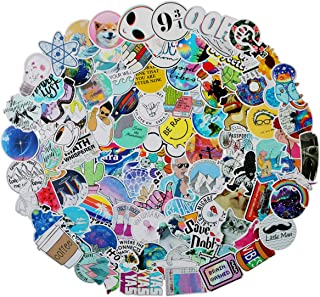 Stickers for Water Bottles, Cute Waterproof Vinyl Stickers for Teens and Girls, | 100 Pack | Unique Aesthetic Durable Decal Stickers, Cool and Trendy Stickers Perfect for Laptop, Hydro Flask, Phone